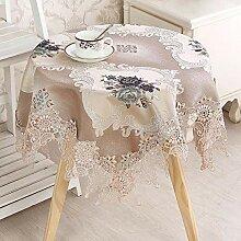 ChuangYing Spitze Tischdecke Retro Stil Tischdecke