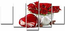ChuangYing Wohnzimmer Dekoration Red Rose Bouquet