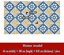 CHUANQIHF Fliesenaufkleber Küche Boden Mittelmeer