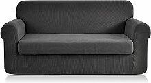 Chun Yi Jacquard-Sofaüberwurf, Stretch,