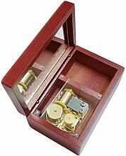 Chunge Elfen Lied Musik-Box, Holz, 18 Noten,