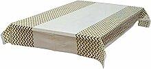 CHUNXU Einweg-Tischdecke, geriffelt, Kunststoff,