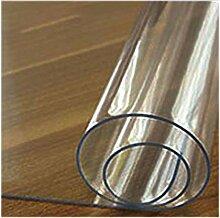 CHUNXU PVC-Tischdecke Transparent Tischdecke