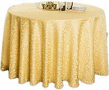 CHUNXU Tischdecke für Hochzeit, Party, Jacquard,