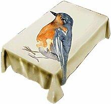 CHUNXU Tischdecke mit Vogel-Motiv, kreatives