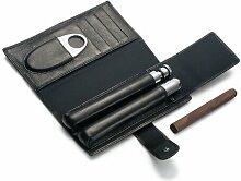 Churchill Flachmann mit Zigarren-Etui Philippi