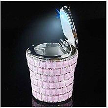 CHUTD Aschenbecher Diamant Auto Mit multifunktions