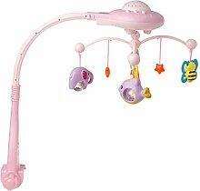 chuxioner Musik-Mobile für Babybett, mit