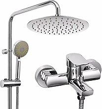CHX Dusche Set Kupfer Wasserhahn Dusche Regen
