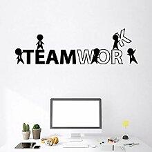 CHXFit Teamarbeit Vinyl Selbstklebende Tapete Für