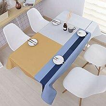 CHYOOO Tischdecken Wasserdichte Tischdecke