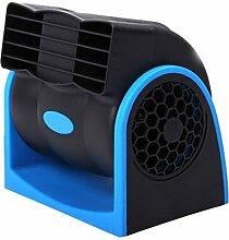 Chytaii Auto Lüfter KFZ Elektrolüfter Auto Ventilator Kühler Gebläse Klimaanlage mit Zigaretenanzünder für Auto Fahrzeuge PKW 180-Grad drehbar