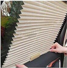 Chytaii Auto Seitenscheibe Sonnenschirm Auto Plissee Sonnenschutz mit Fenster ansteigbar
