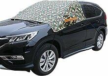 Chytaii KFZ Frontscheibe Sonnenblende Windschutzscheibe Sonnenschutz Auto Winterabdeckung Eisschutz Schneeschutz universal für Offroad-SUV Auto 2.48*1.78 m Camouflage