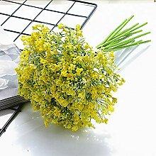 CHZIMADE Künstliche Blume, Gypsophila,