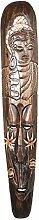 Ciffre 100cm Holz Maske Holzmaske Wandbehang