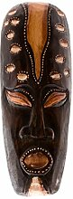 Ciffre 30cm Holz Maske Holzmaske Wandmaske