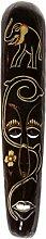 Ciffre 60cm Holz Maske Holzmaske Deko Wandmaske