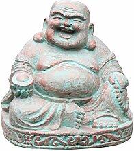 Ciffre Kleiner Happy Buddha Stein Figur 20cm x