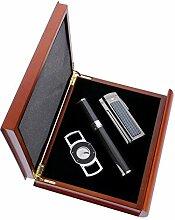 Cigar Case,Travel Cigar Set Portable Cigar Humidor
