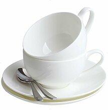 CIGONG Einfache Bone China Kaffeetasse Und