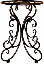 CIJK Metall Pflanze Ständer Regal, Elegante