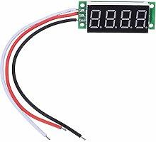Cikuso 0.36inch 4 Digit Digital Panel Voltmeter