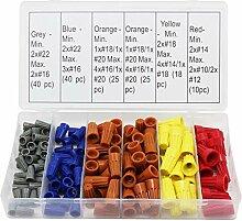 Cikuso 158 Stücke 5 Farben Elektrischen Draht