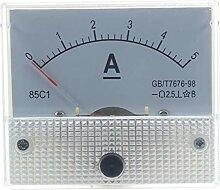 Cikuso Analog 85C1 DC 5A Panel Meter Amperemeter