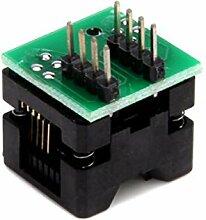 Cikuso SOP8 zu DIP8 Programmer Adapter Buchse