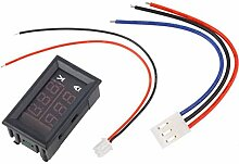Cikuso Tafelmontierter DC Digital Voltmeter