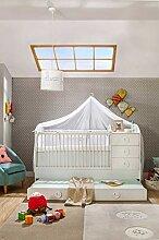 Cilek Baby Cotton mitwachsendes Babybett Matratze