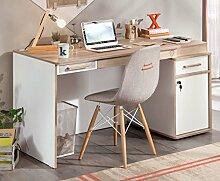 Cilek DYNAMIC Schreibtisch Kinderschreibtisch Kindertisch Tisch Weiß / Holz