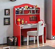 Cilek RACECUP Schreibtisch Kinderschreibtisch Kindertisch Tisch Rot / Grau