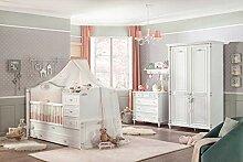Cilek Romantic Babyzimmer I, 4-TLG. Matratze ohne