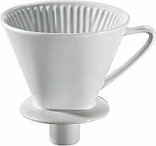 Cilio 106091 Kaffeefilter m. Stutzen Gr.4,