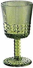 Cilio 290486 Weinglas, Glas, smaragd, 8,5 x 8,5 x 16,2 cm