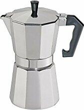Cilio 321272 Espressokocher, Aluminium, silber, 17