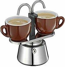 Cilio 342970 Caffettiera Espressokocher, Edelstahl