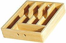 Cilio 410006 Besteckkasten Holz, 30 x 35 cm