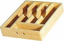 Cilio 410013 Besteckkasten Holz, 34 x 43 cm