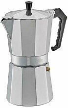 Cilio Espressokocher, Aluminium, Edelstahl
