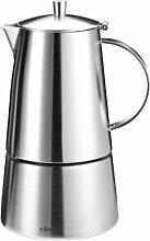 Cilio Espressokocher Modena, 6 Tassen, Edelstahl,