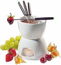 Cilio Schokolade -Fondue-Set 6-teilig, Ø 12 cm,