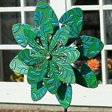 CIM Metall Windrad - Exotic Flower Martinique -