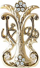 Cinar Religiöse Dekoration Allah / Mohammed Gold