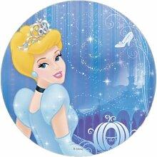 Cinderella Runde Torten Druck Bild auf A4