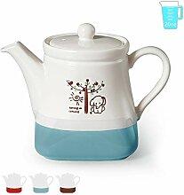 Cinf Bunte Teekanne im europäischen Stil, Dobin