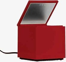 Cini&Nils Cuboluce Nachttischleuchte LED, rot