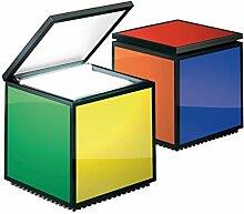Cini & Nils Cuboluce Nachttischleuchte, multicolor